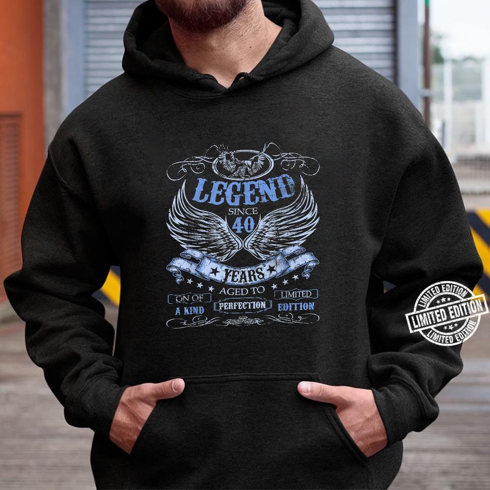 40 Geburtstag Jungen Mädchen Frauen Männer 40er 40 Jahre Shirt hoodie
