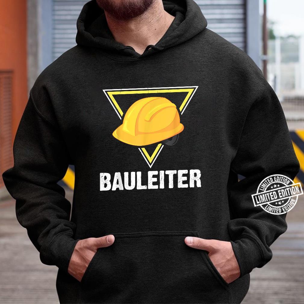 Bauleiter Bauarbeiter Kostüm Bauaurbeiterhelm Helm Shirt hoodie