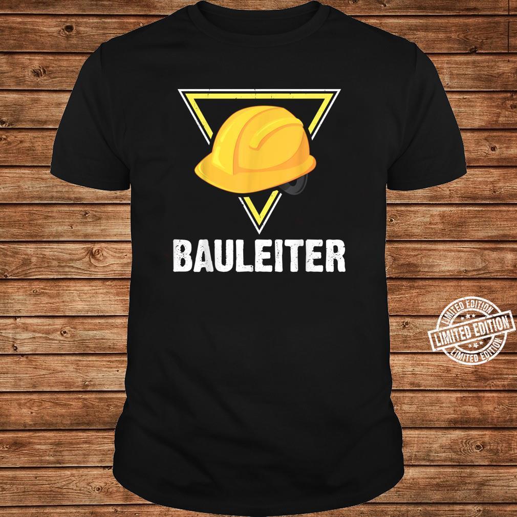Bauleiter Bauarbeiter Kostüm Bauaurbeiterhelm Helm Shirt long sleeved
