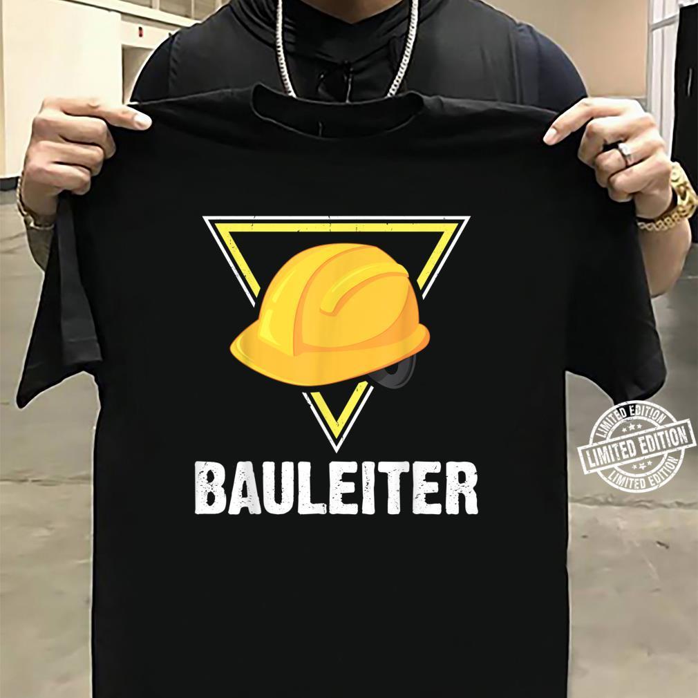Bauleiter Bauarbeiter Kostüm Bauaurbeiterhelm Helm Shirt sweater