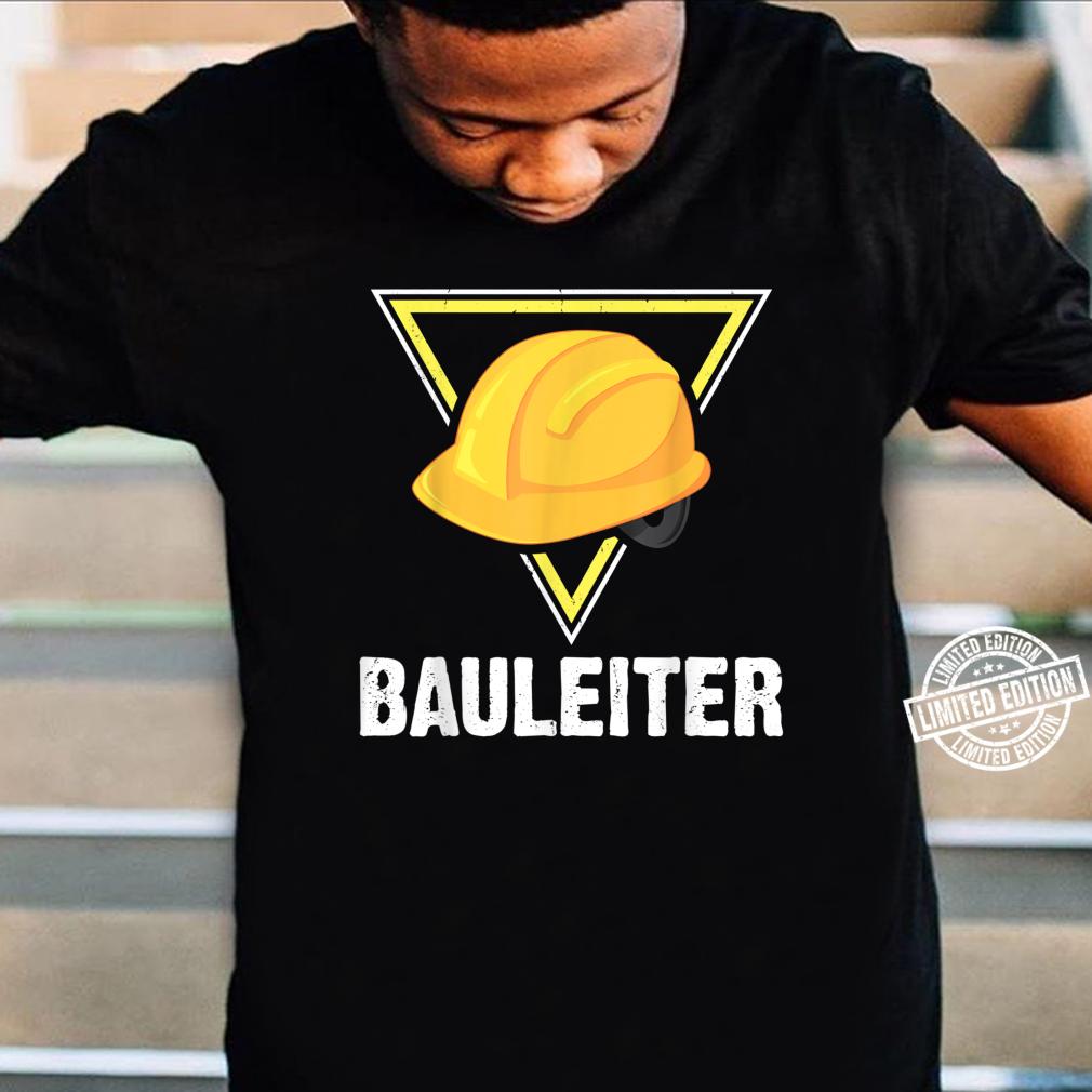 Bauleiter Bauarbeiter Kostüm Bauaurbeiterhelm Helm Shirt