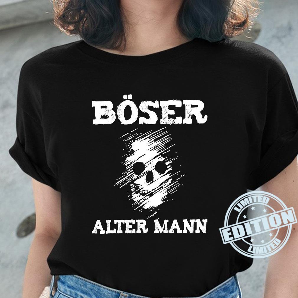 T-Shirt Böser Alter Mann