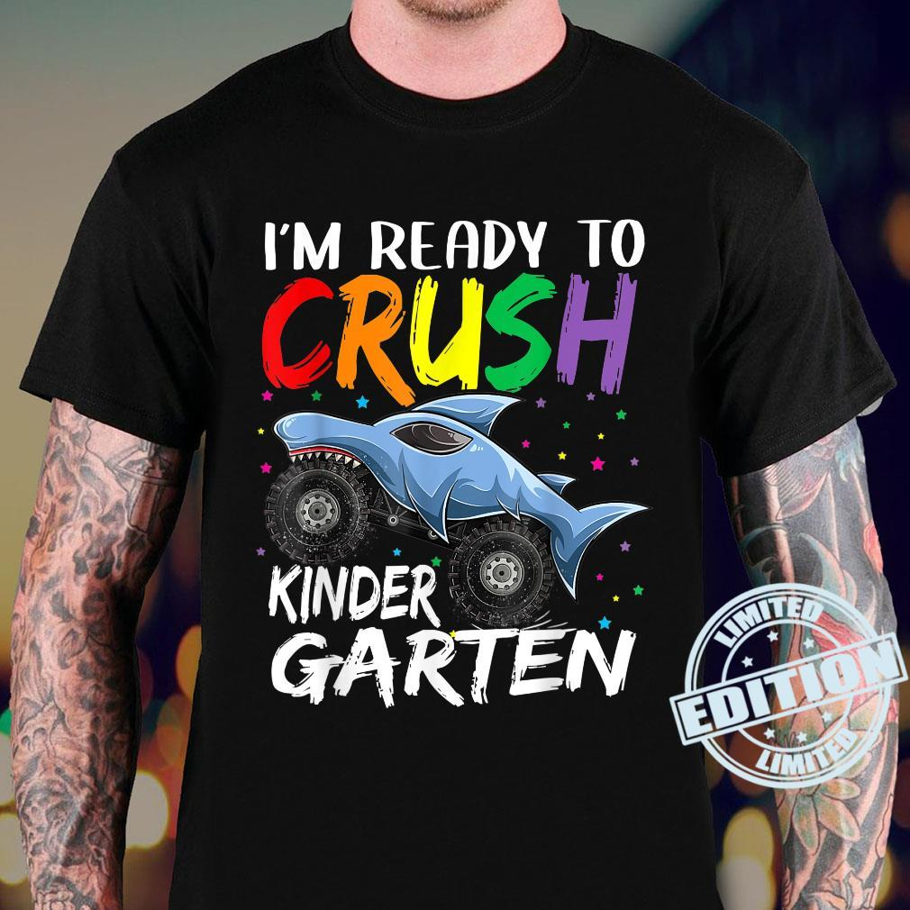 I'm Ready To Crush Kindergarten Monster Truck Back To School Shirt sweater
