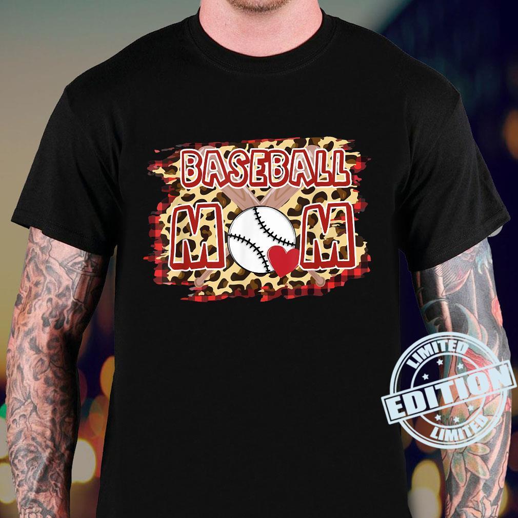 Leopard Baseball Mom Shirt sweater