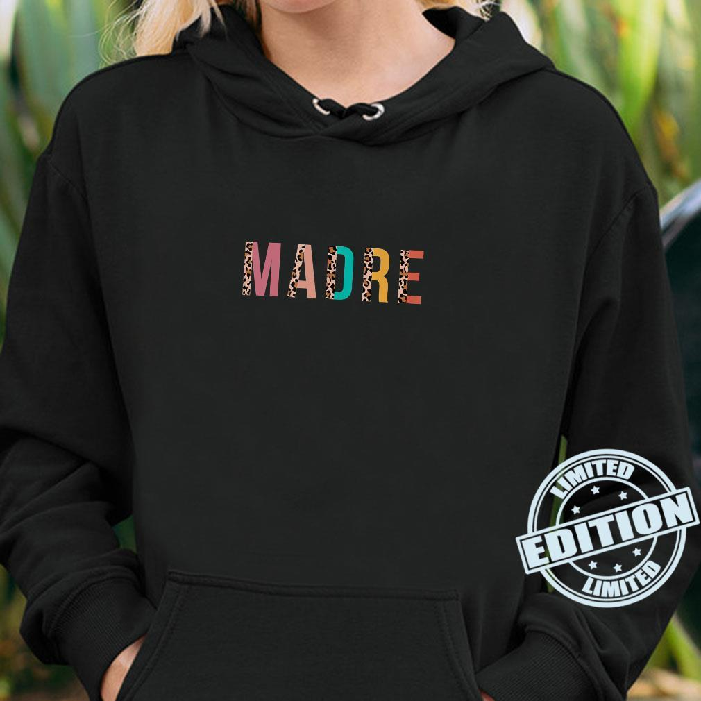 Leopard Print Madre Cool Mom Mama Shirt hoodie