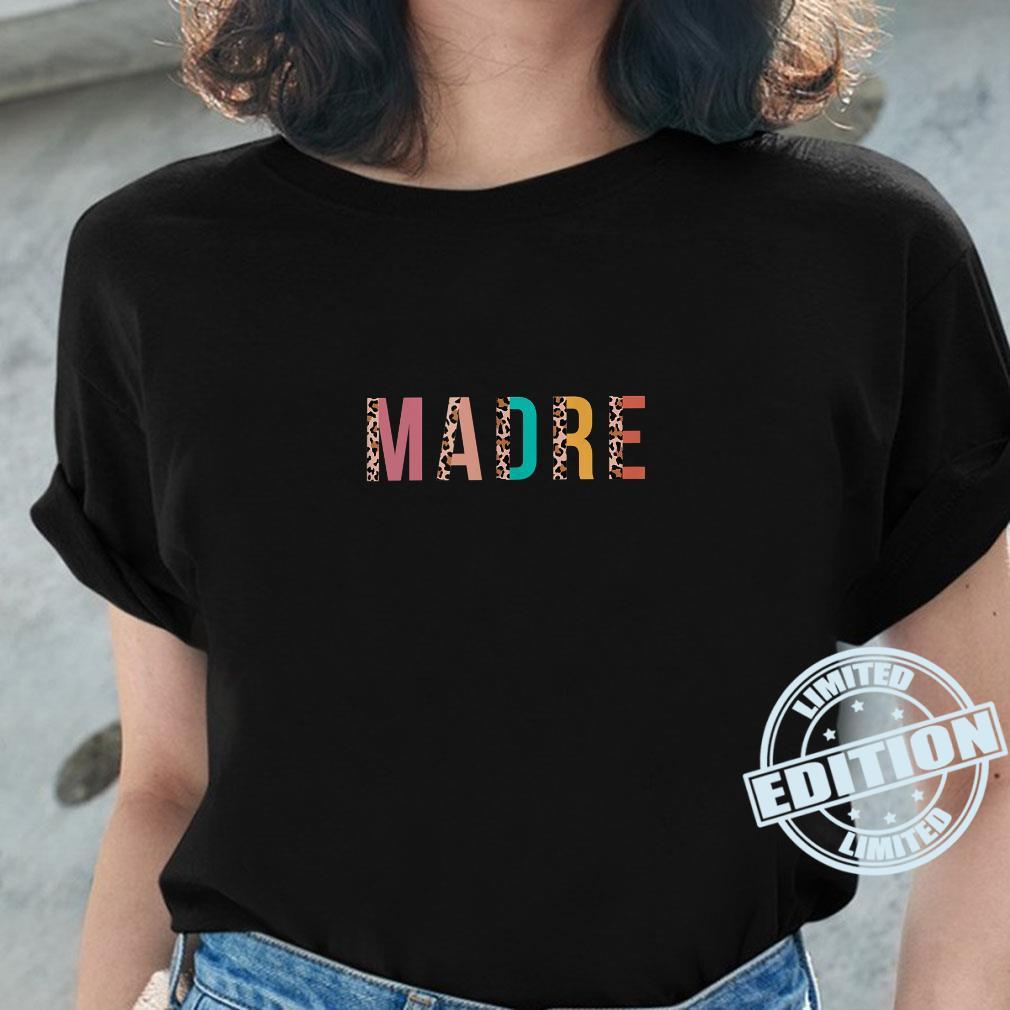 Leopard Print Madre Cool Mom Mama Shirt ladies tee