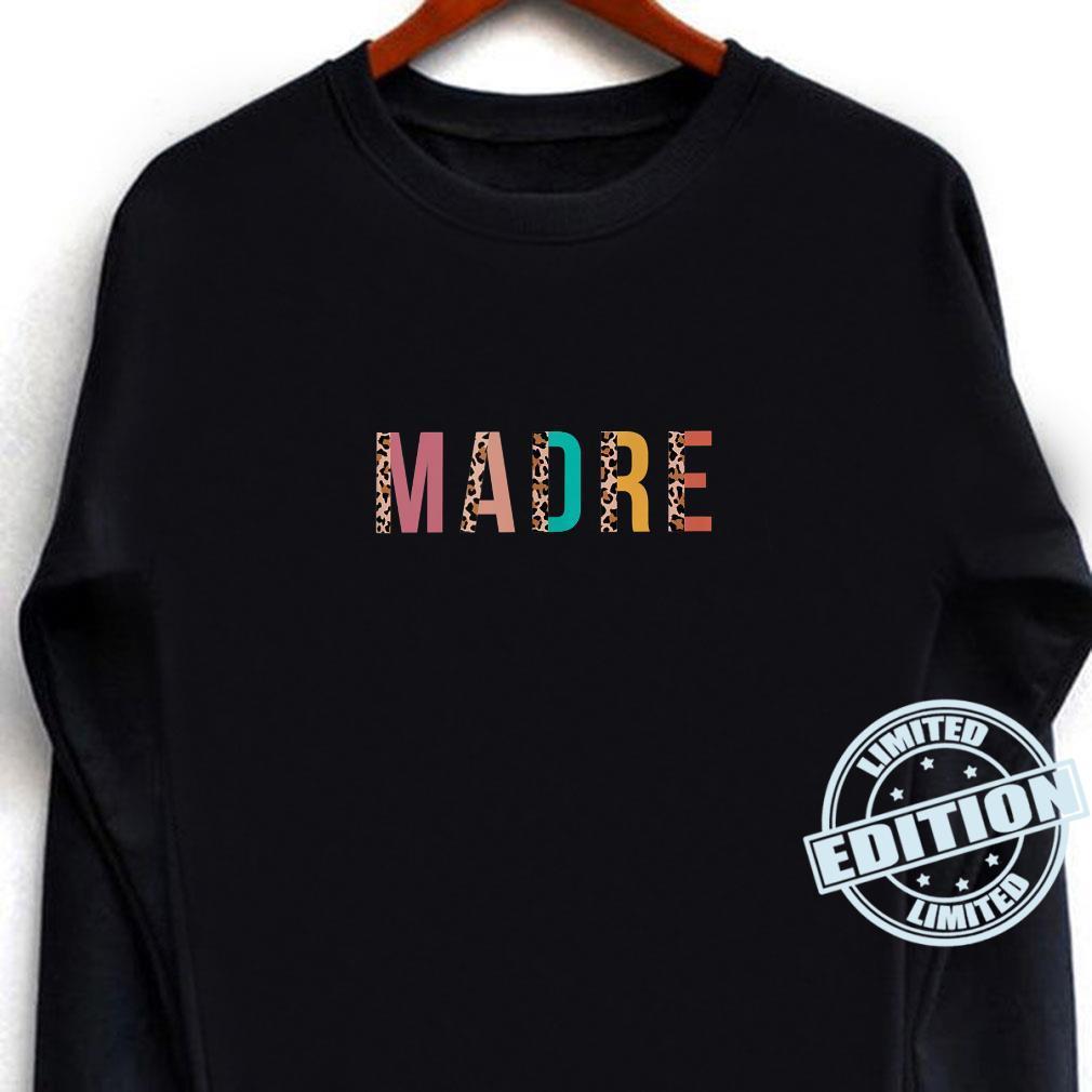 Leopard Print Madre Cool Mom Mama Shirt long sleeved