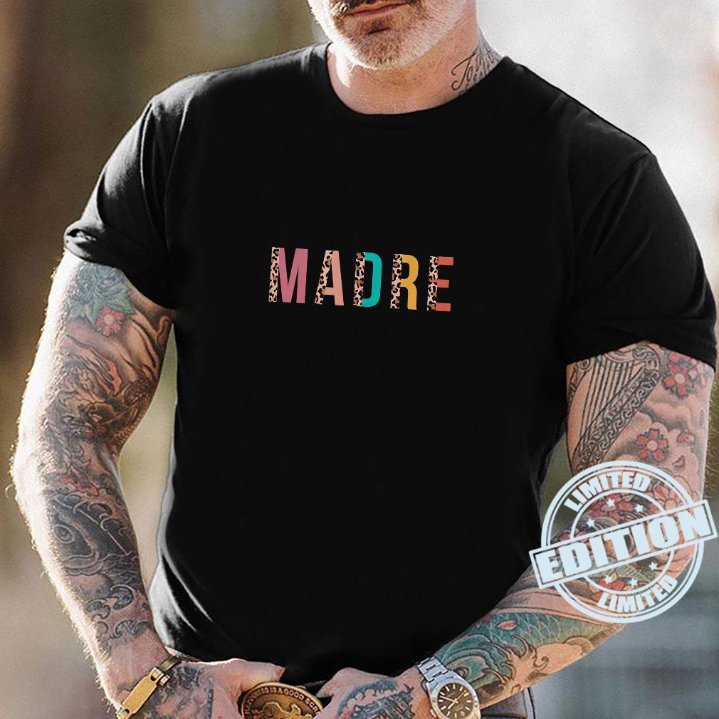 Leopard Print Madre Cool Mom Mama Shirt