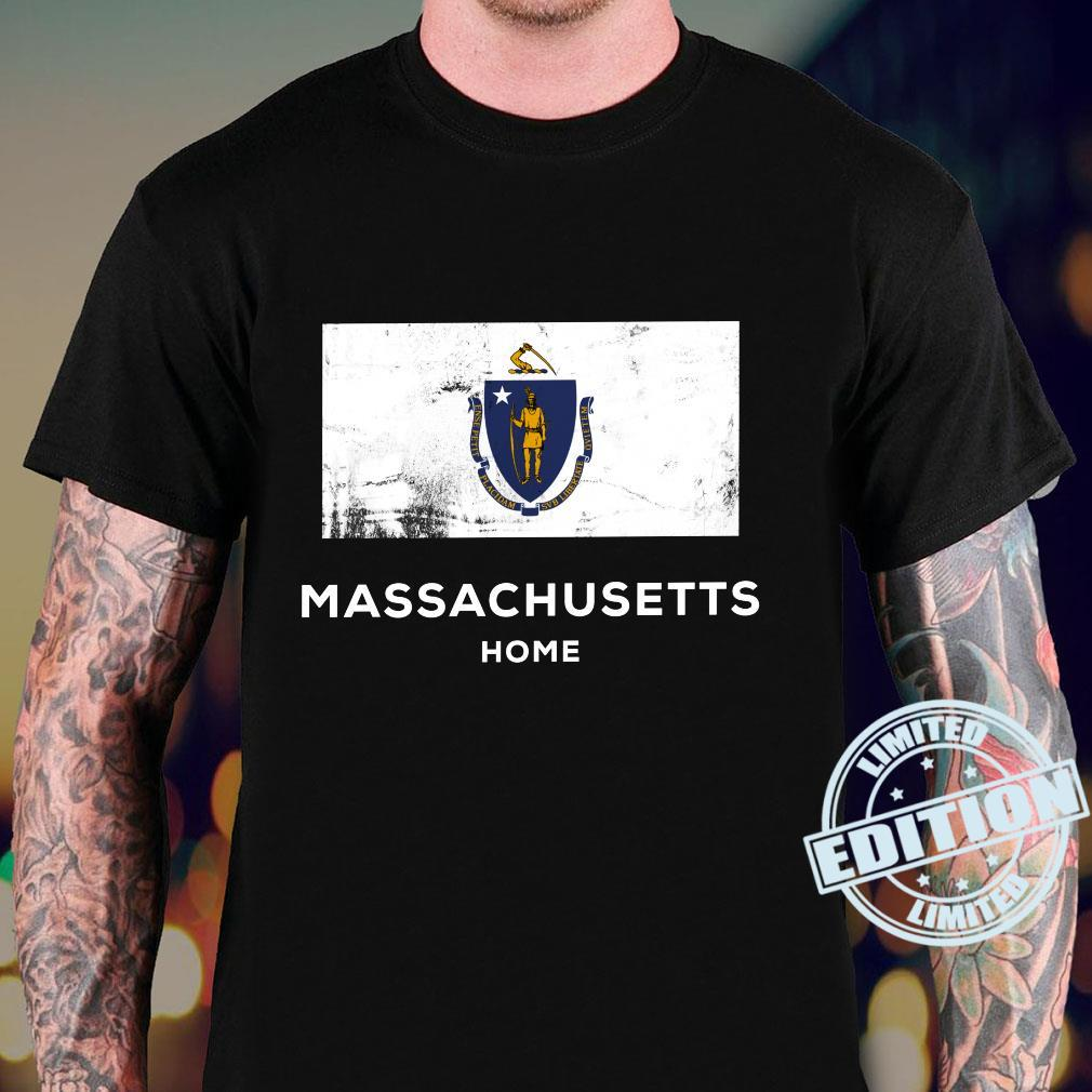 Massachusetts United States Flag Home Pride Shirt sweater