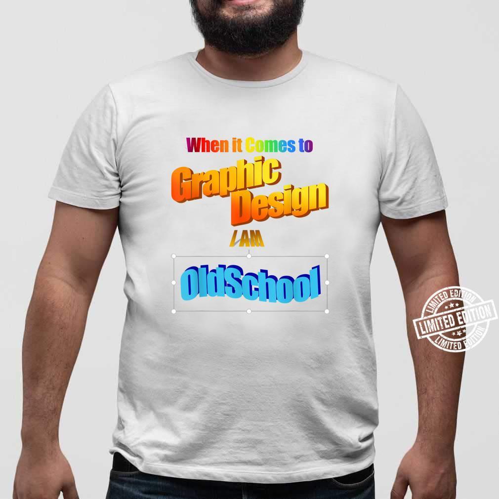 Old School Retro Graphics Designer Shirt sweater