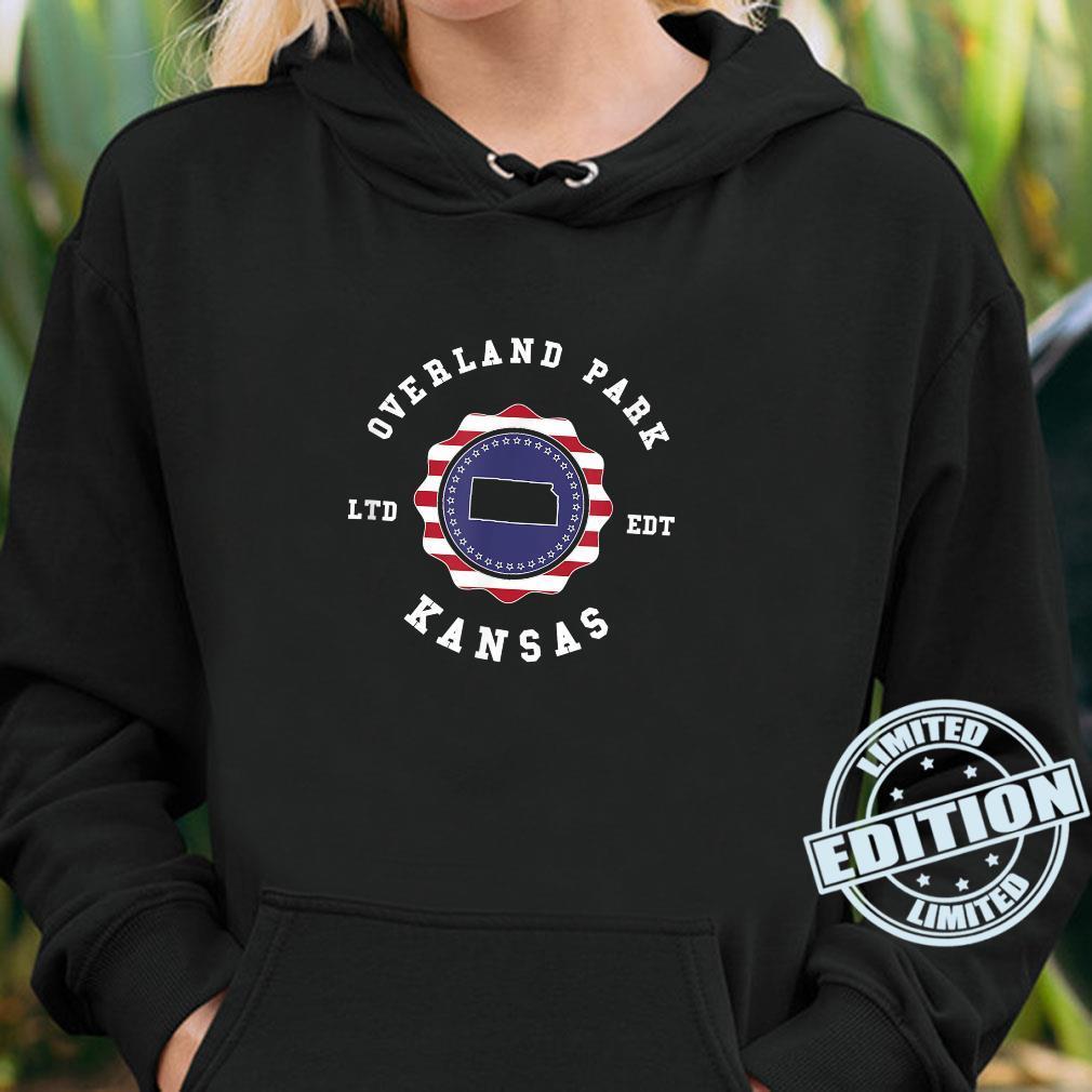 Overland Park Kansas United States Vintage Town Pride Shirt hoodie