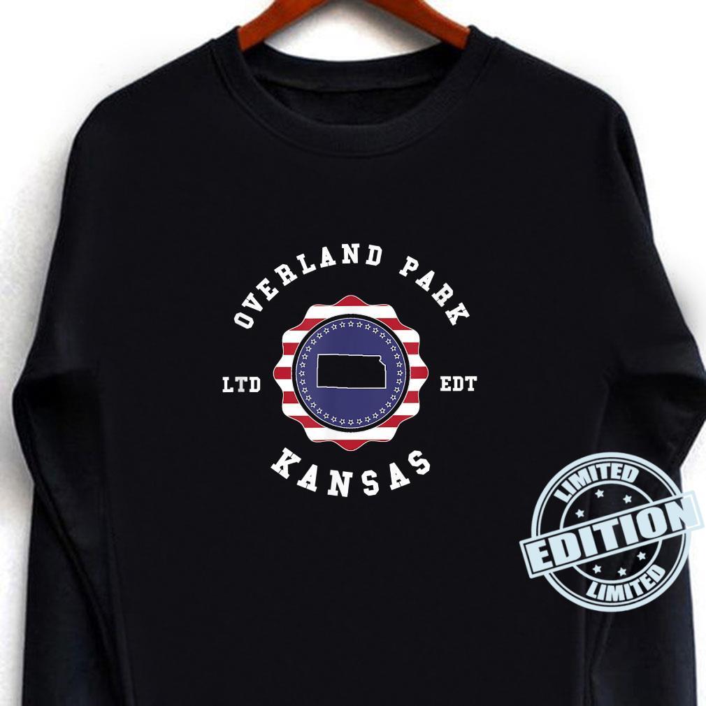 Overland Park Kansas United States Vintage Town Pride Shirt long sleeved