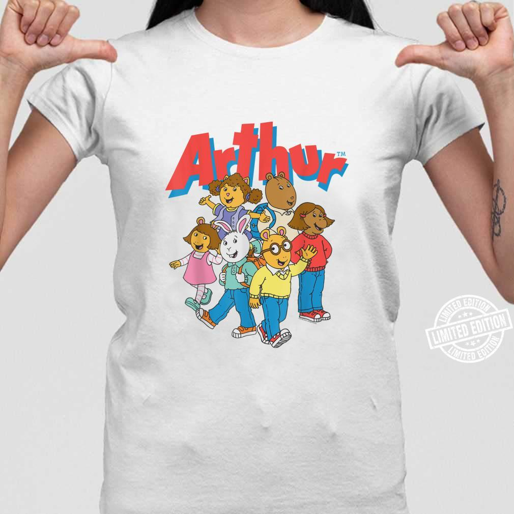 PBS's Arthur Characters's and's Shirt ladies tee