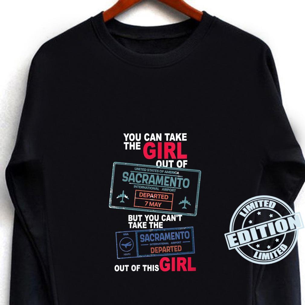 Proud Sacramento Girl Girl From Sacramento Shirt long sleeved
