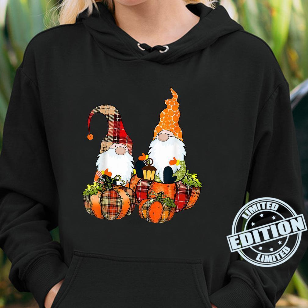 Pumpkin Gnomes Fall Autumn Cute Halloween Thanksgiving Shirt hoodie