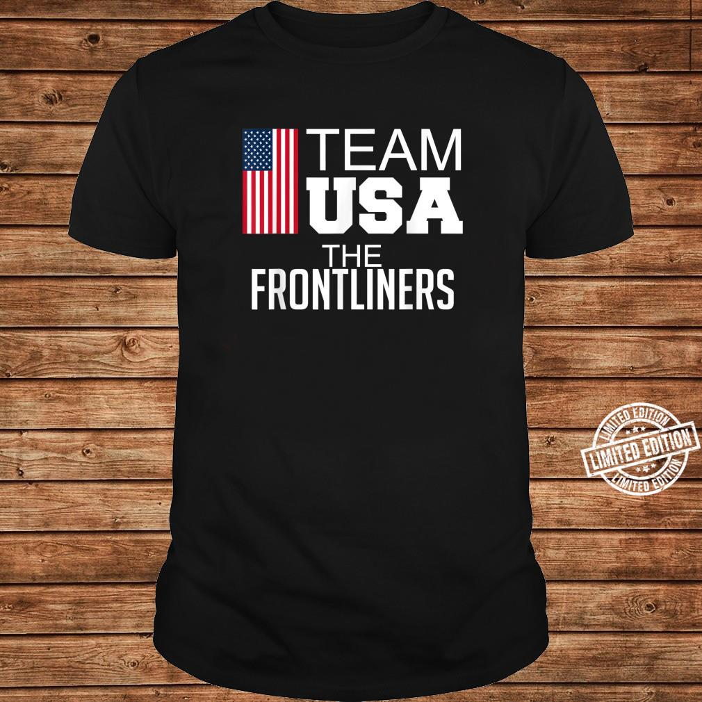 Team USA The Frontliners Shirt long sleeved