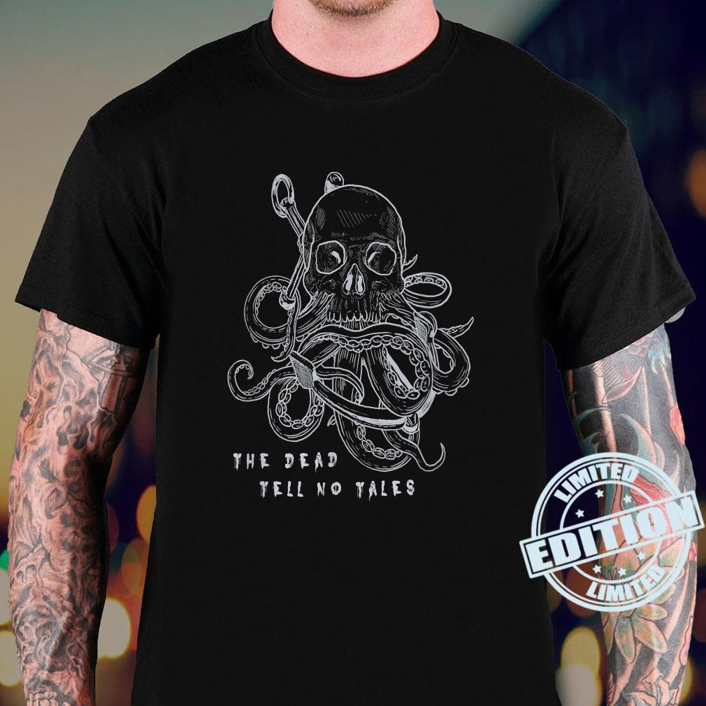 The Dead Tell No Tales Tattoo Skull Octopus Anchor Pirate Shirt sweater