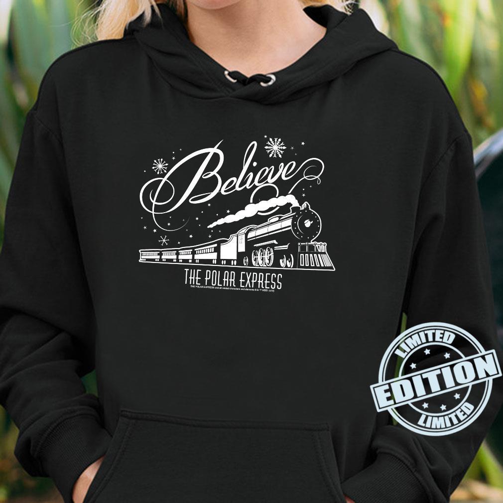 The Polar Express Believe Shirt hoodie