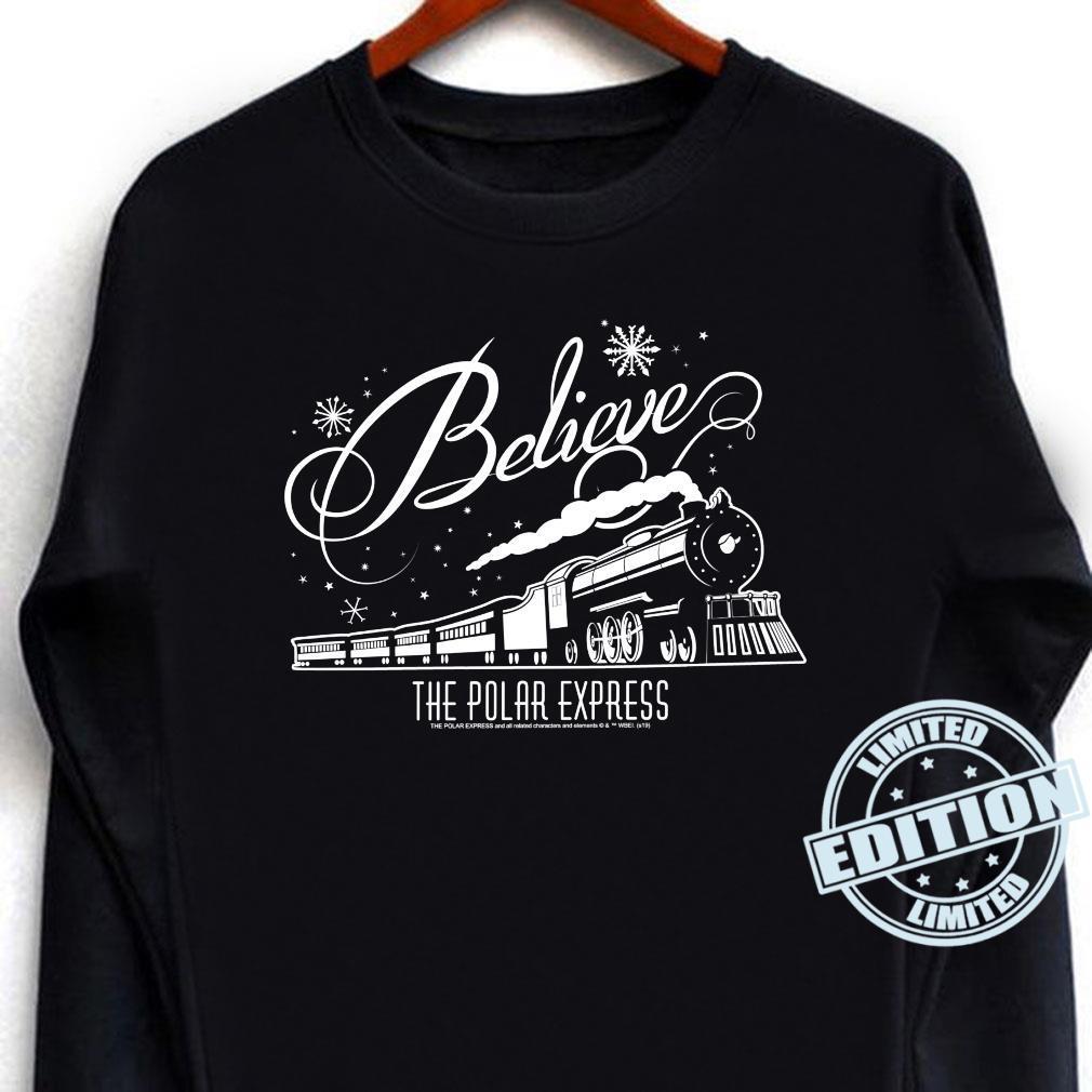The Polar Express Believe Shirt long sleeved