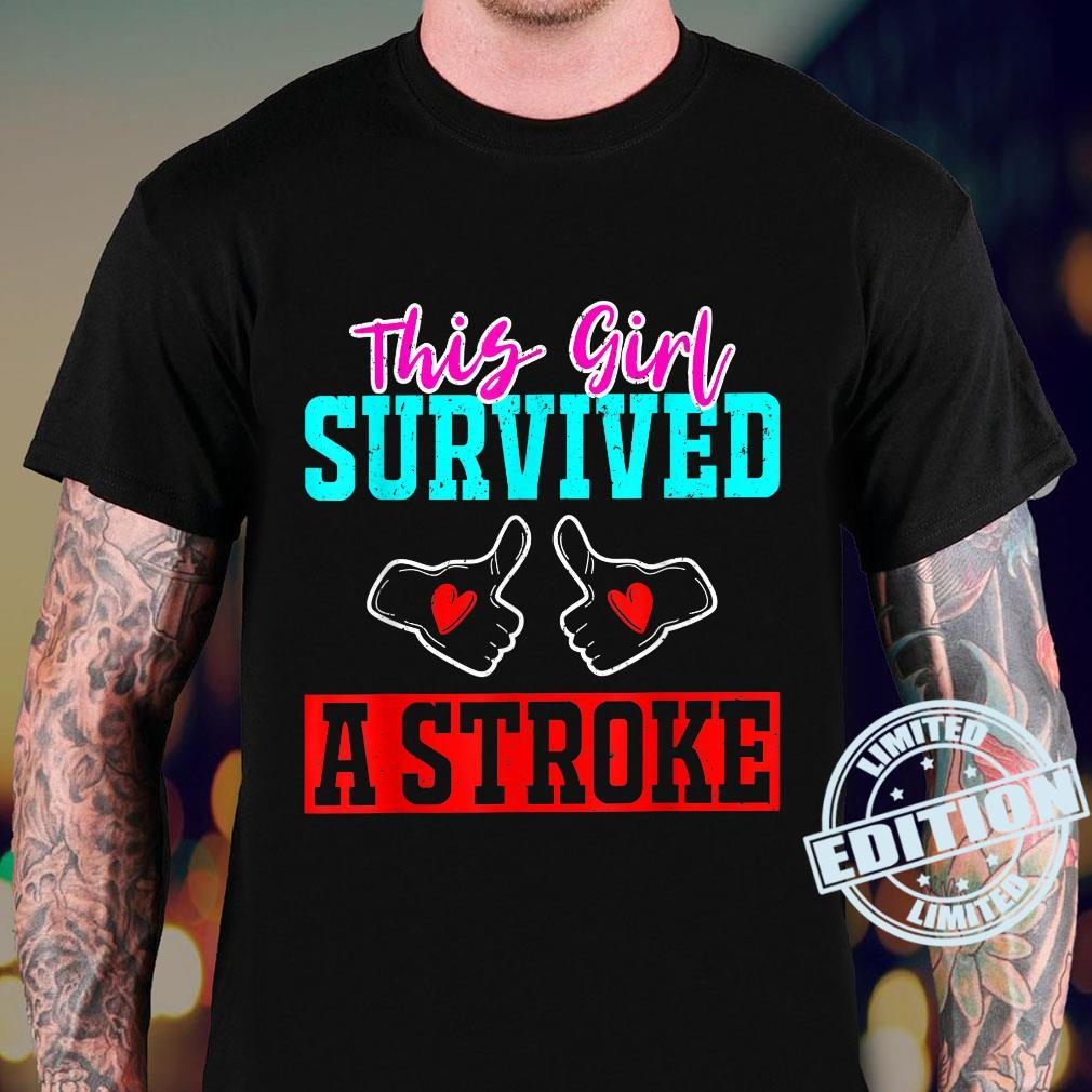 This Girl Survived a Stroke Survivor Recovery Mom Shirt sweater