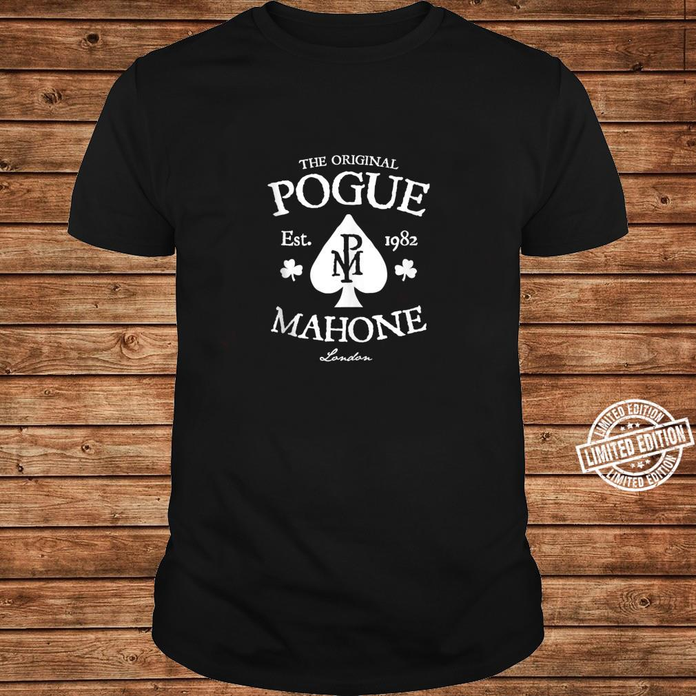 The Pogues Official Spade Shirt long sleeved