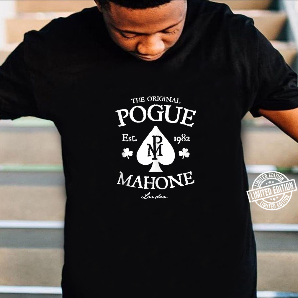 The Pogues Official Spade Shirt